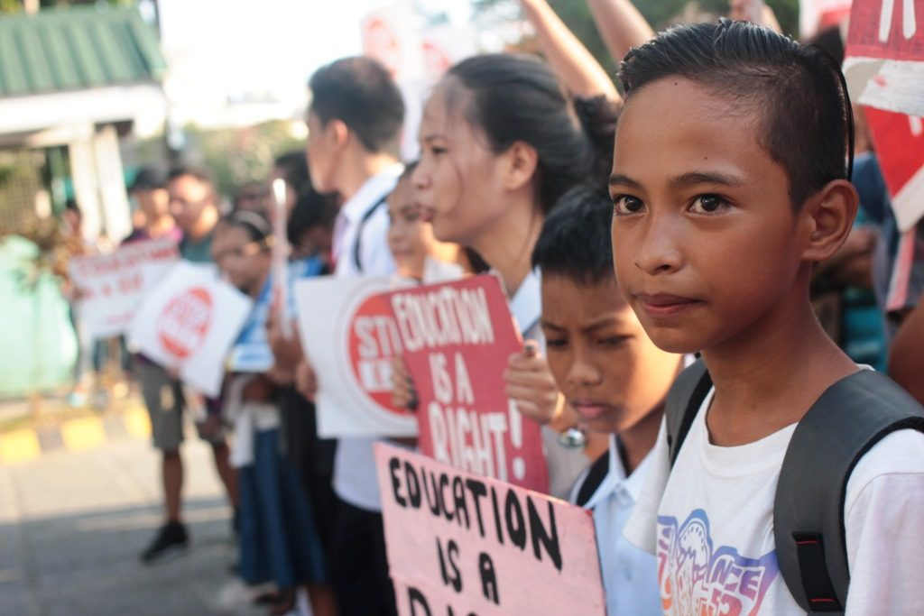 Students greet new school year with protests vs. K to 12