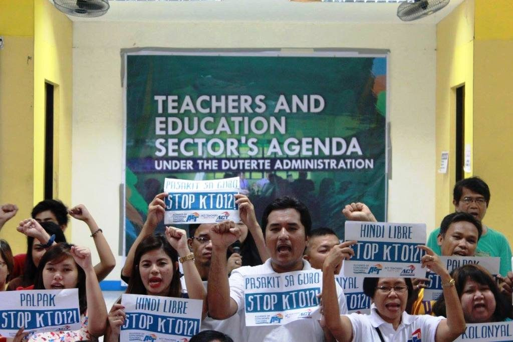Public school teachers pose 8-point education agenda to Duterte