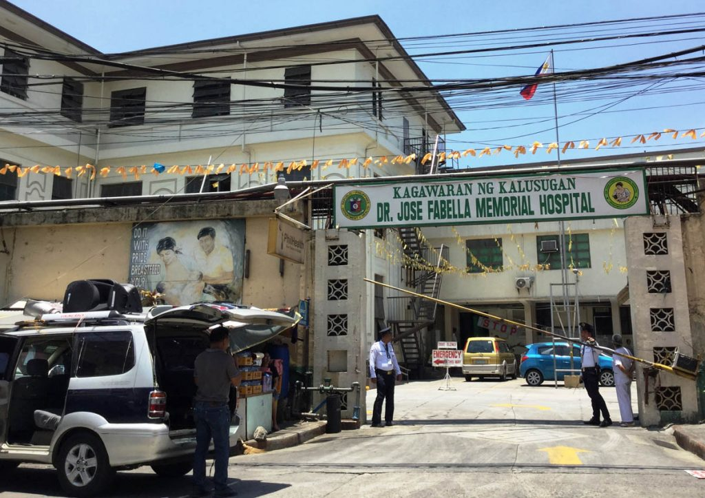 Fabella Hospital, up for rebuilding or commercialization?