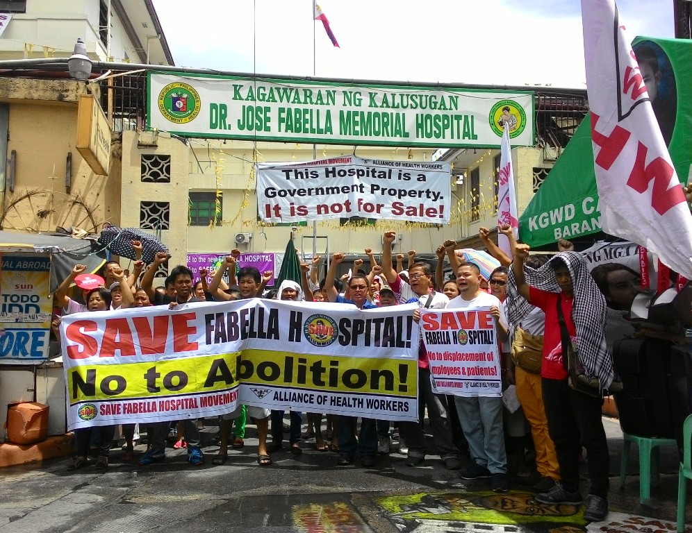 Groups urge hospital director to join call to save Fabella