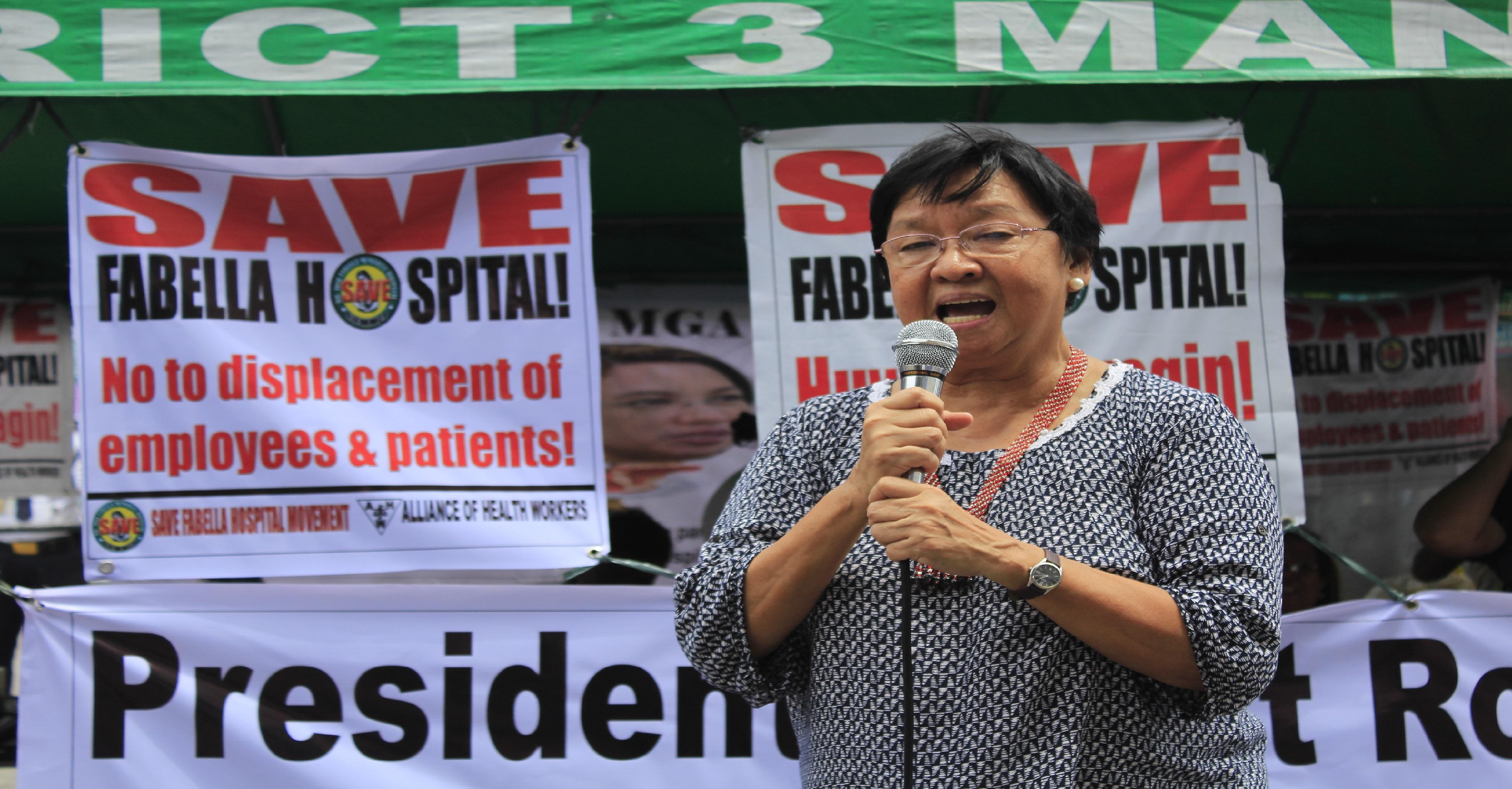 Incoming Social Welfare Secretary Judy Taguiwalo (Photo by K. A.Macalalad/Bulatlat)