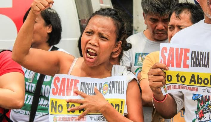 Communities rally to save Fabella Hospital