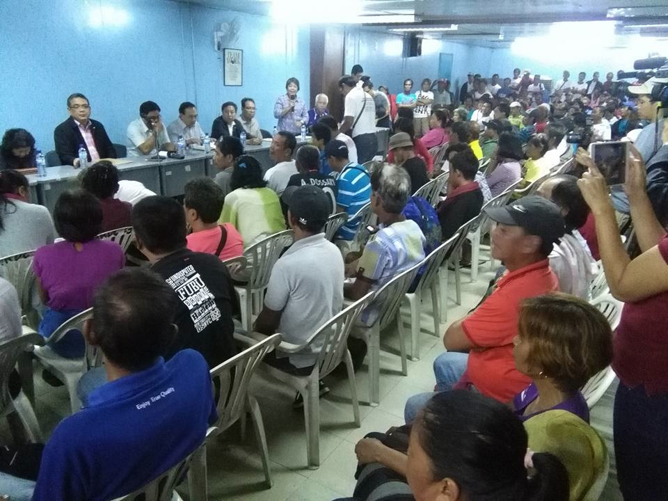 For the first time, Hacienda Luisita farmers' plea is being heard by the Department of Agrarian Reform (DAR). (Photo courtesy of Luisita Watch)