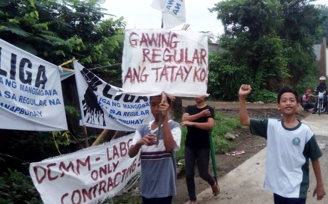 Feedmill workers hit labor commission's TRO against strike