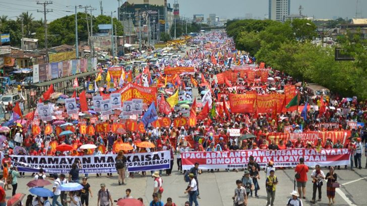 People's SONA | Progressive groups from all over Ph rally for change