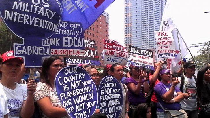 Groups appeal to Duterte: do not be swayed by U.S. on China dispute, Edca