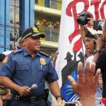"Police chief ""Bato"" surprises SONA rallyists at Batasan"