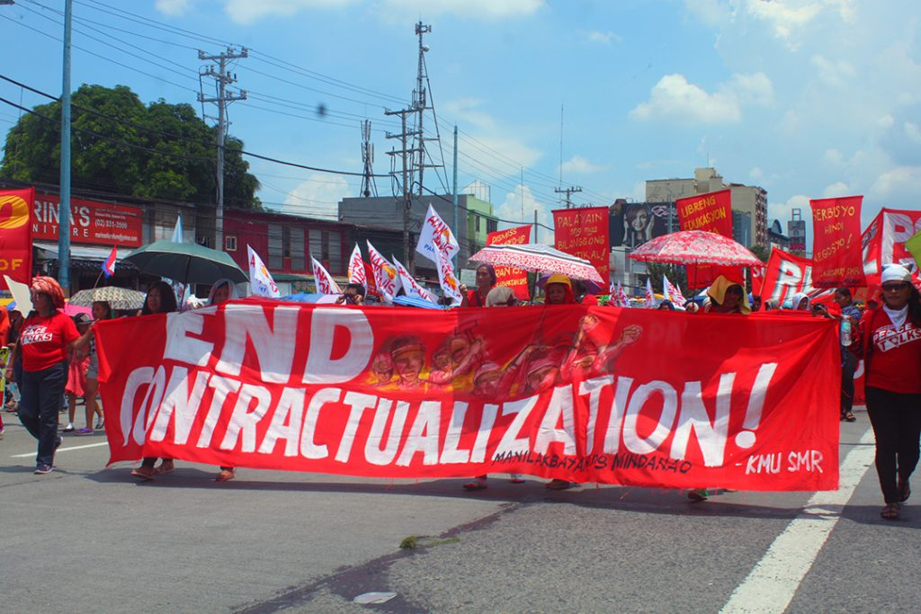 Contractual, 'pakyawan' workers in Mindanao plantations urge DOLE to act on labor rights violations