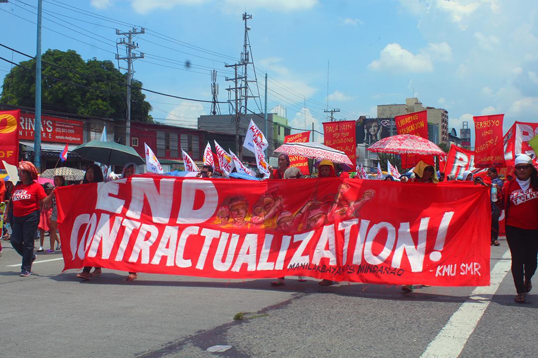 Labor contractualization