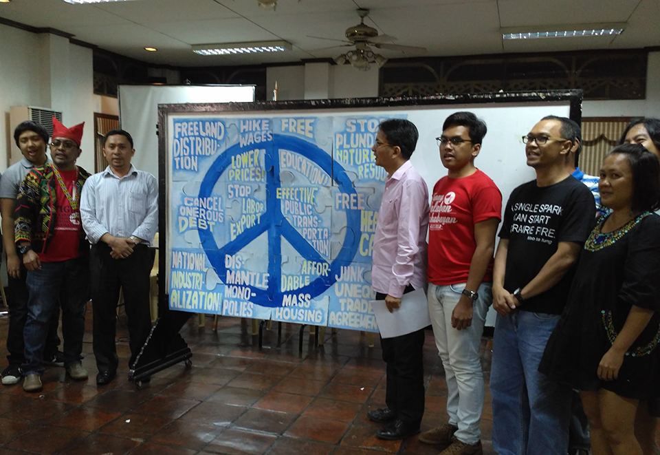 UP supports peace talks