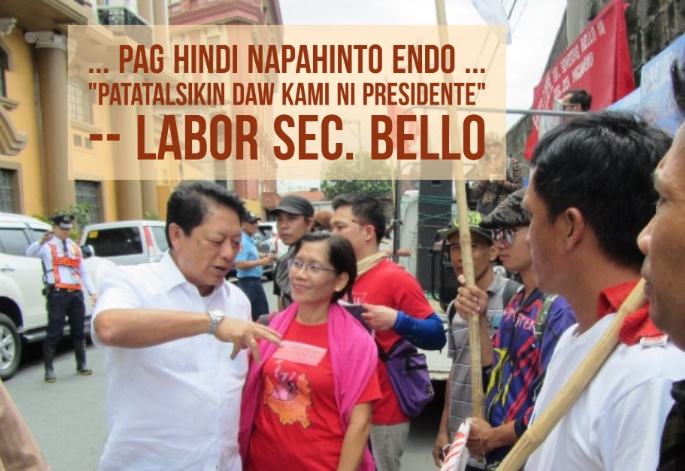 Workers welcome new labor officials, ask penalties for erring employers