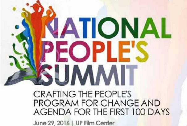 FULL TEXT: People's Agenda 2016
