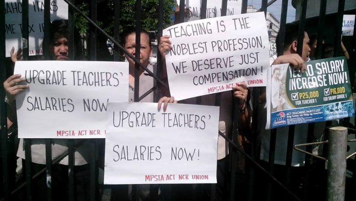 Government nurses, teachers slam budget secretary over pay  hikes