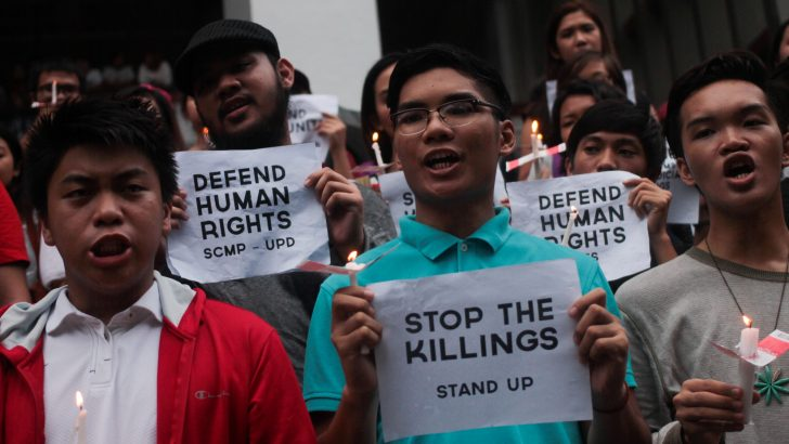 Extrajudicial killing of rights defenders