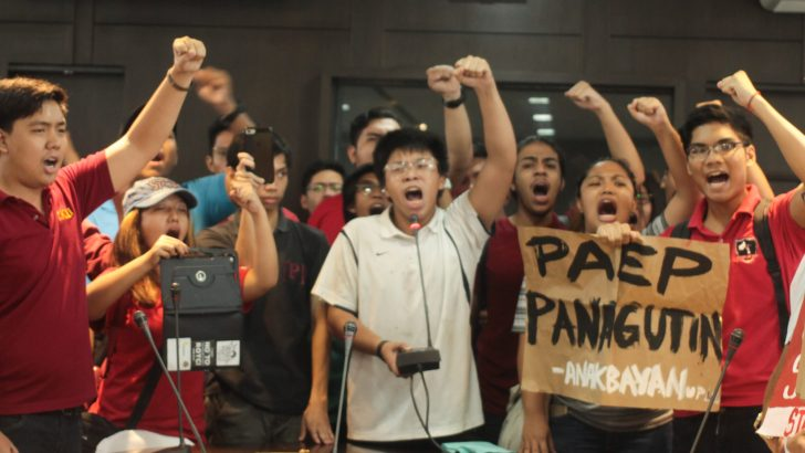 UP students protest privatization, demand accountability from outgoing head