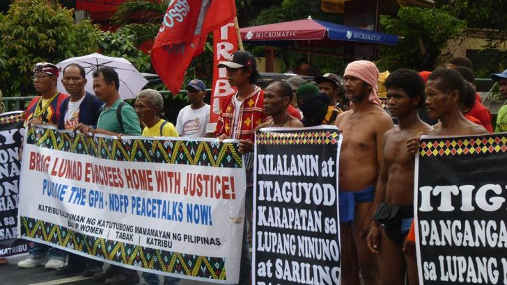Global indigenous groups appeal to Duterte to give 'a chance for peace'
