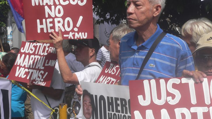 Martial law victims speak: 'Do not forget our suffering'