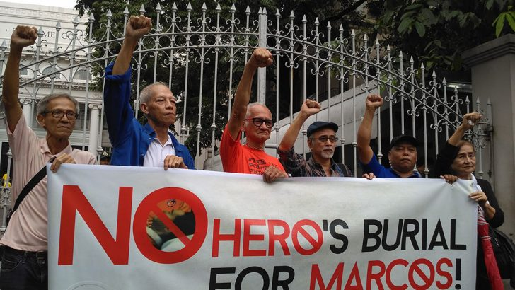 Special coverage on the #MarcosBurial issue