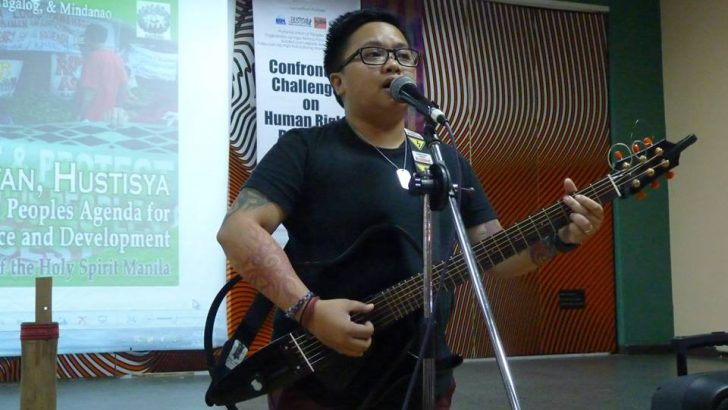 Aiza Seguerra sings for indigenous peoples