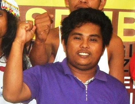Tagdumahan leader Genesis Ambason who was slain in 2012 (Photo courtesy of RMP-NMR)
