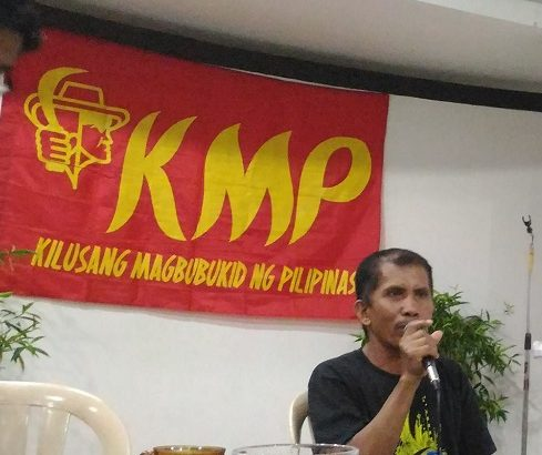 Peasant groups decry illegal arrest of leader