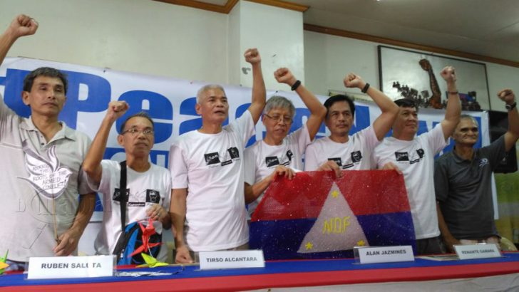 9 NDFP consultants released for formal talks