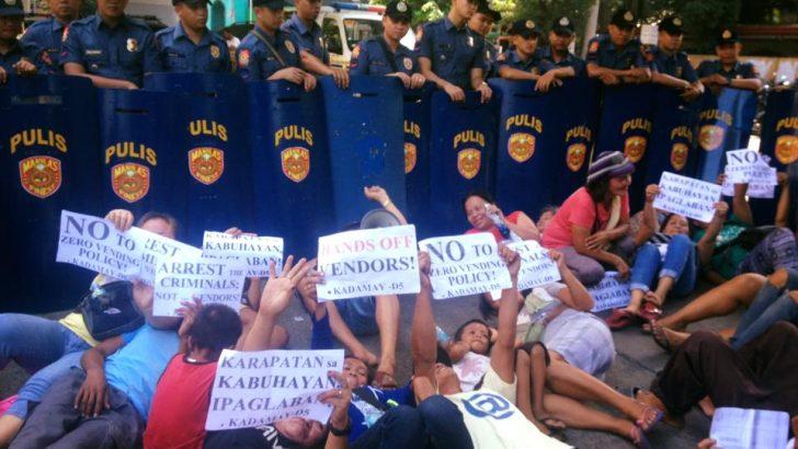Manila vendors decry local gov't attacks on their livelihood