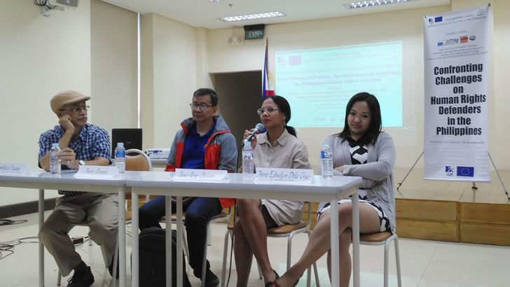 Challenges to human rights reporting in the Philippines cited