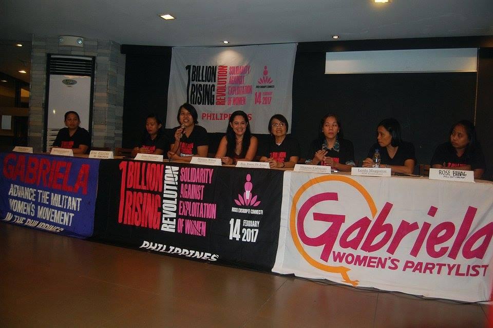 The One Billion Rising Revolution launch. (Photo by Mon Ramirez)