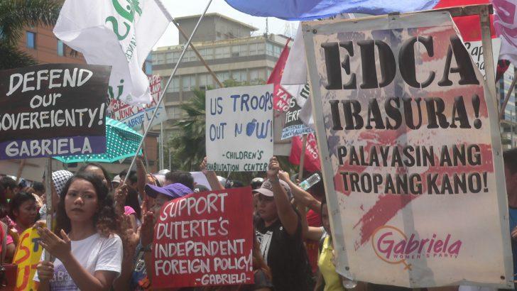 25th year of Senate vote vs US bases | 'Boot US troops out,' progressives urge Duterte