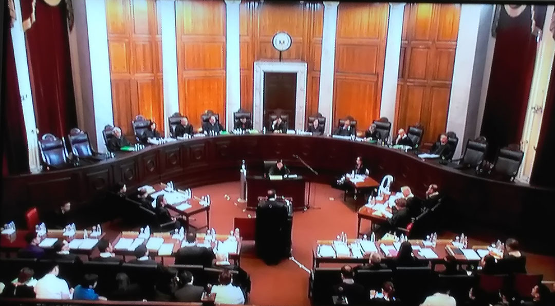 The Supreme Court hear the oral arguments of the respondents to the petition against the burial of the late dictator Ferdinand Marcos in the Libingan ng mga Bayani, Sept. 7.
