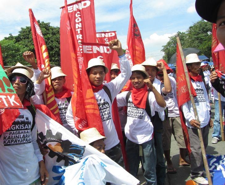 Striking workers Manila Cordage