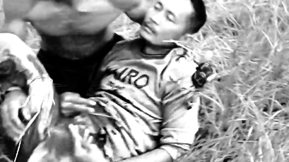A still from the viral video of Figuerroa's killing. (Grabbed from the Facebook account of Mon Ramirez)