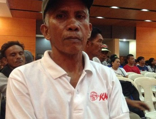 Former NPA guerilla turned peasant leader hopes peace talks lead to genuine change