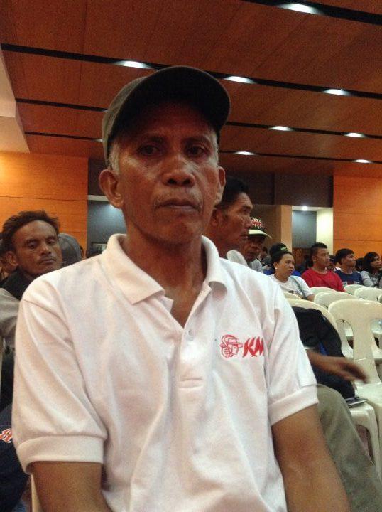 Ka Tony Pajalla (Photo by J. Ellao / Bulatlat.com)