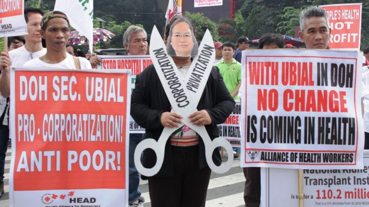 'Anti-people' | Health workers slam DOH secretary on planned firing of 7,000 nurses