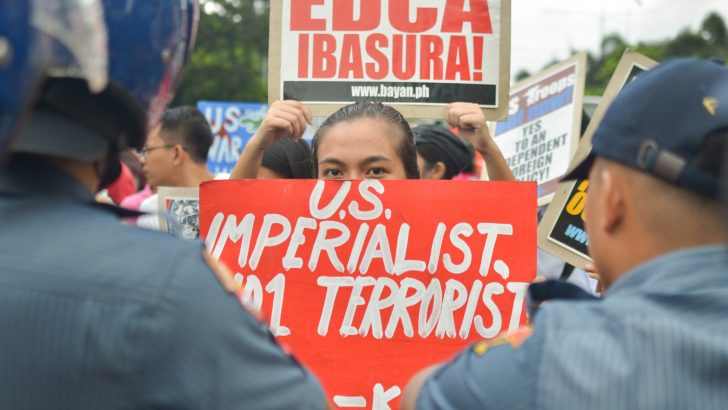 'End VFA, Edca' | Progressives urge Duterte to act on anti-US imperialism tirades