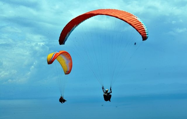 Paragliding time