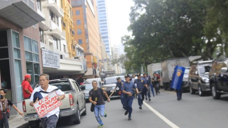 50 injured, 29 nabbed as police disperse protest at US embassy