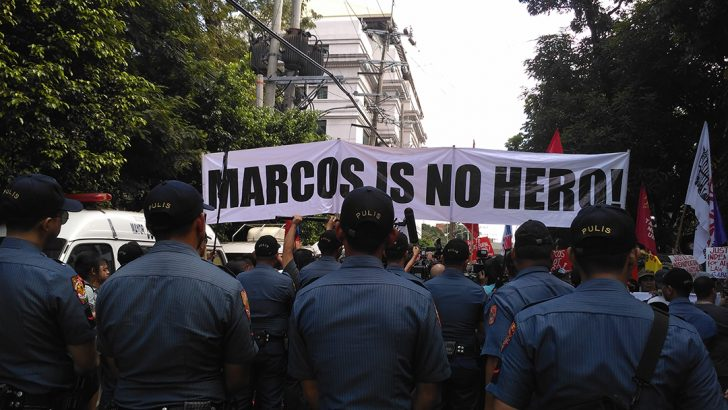SC ruling on Marcos burial stokes anew public protests