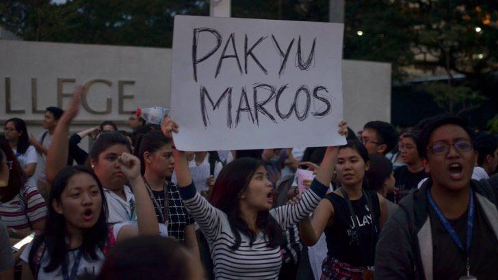 Ateneo, Miriam, UP unite in condemning sneaky burial of Marcos at Libingan