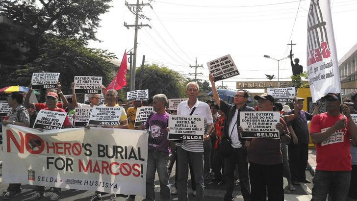 Replace members of Claims Board, martial law victims demand