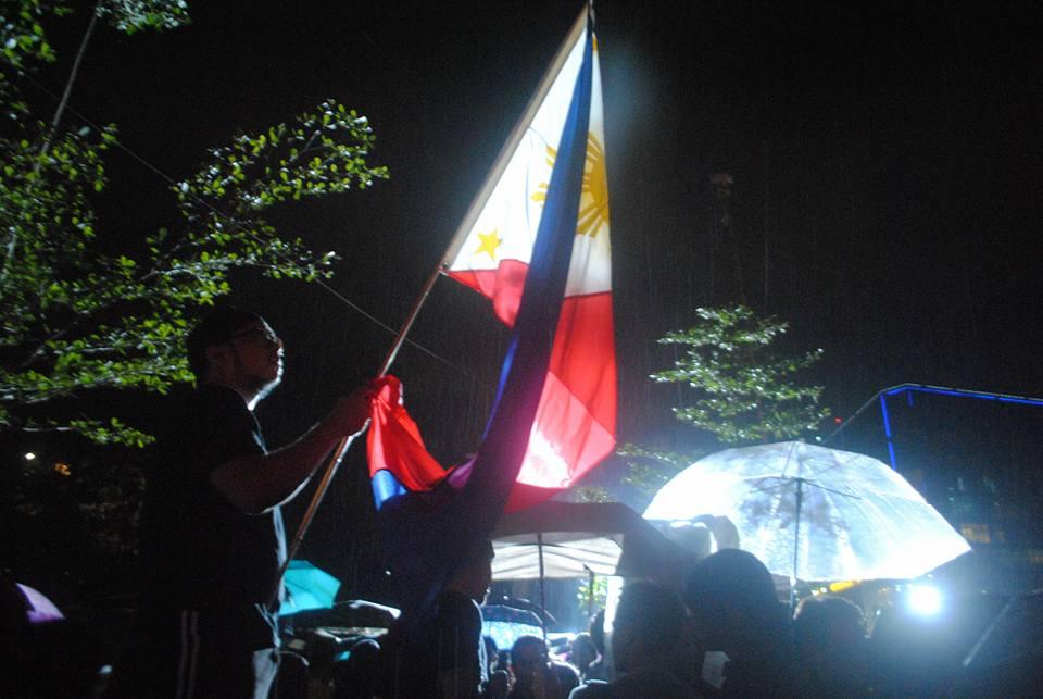 RAGE AGAINST THE RAIN. (Photo courtesy of Lito Ocampo)