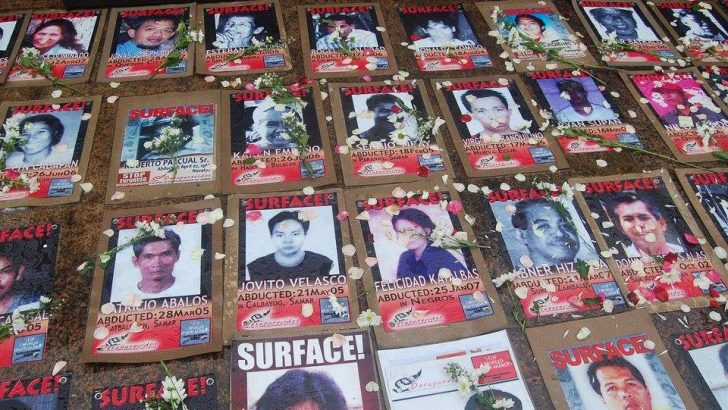 All Souls' Day for the kin of the disappeared