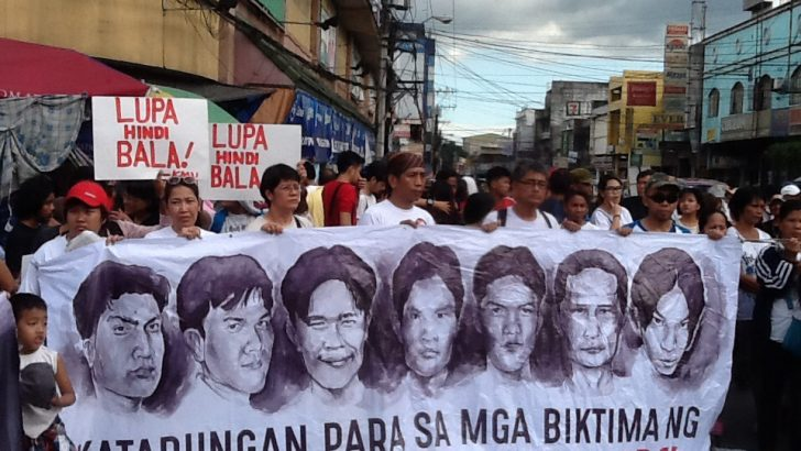 Cultural caravan recalls Hacienda Luisita massacre, pushes farm workers' right to land