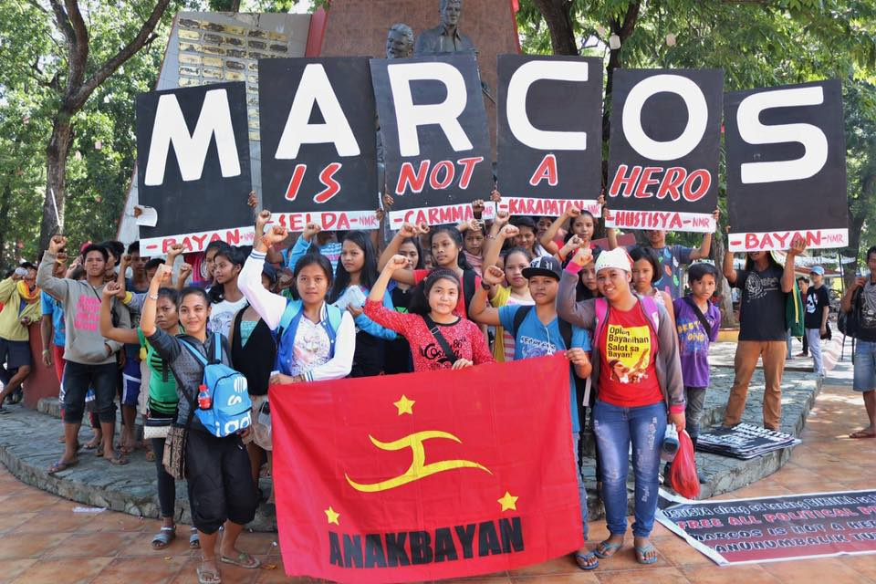 Cagayan de Oro City youths join the Nov. 8 protest in time for the Supreme Court decision (Contributed photo)
