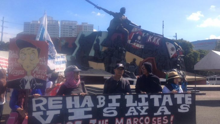 Protest caravan from Visayas arrives in Manila