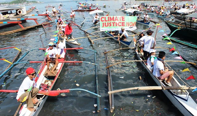 Justice, addressing climate change among Yolanda survivors' calls