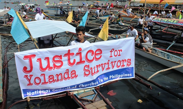 Yolanda fluvial parade