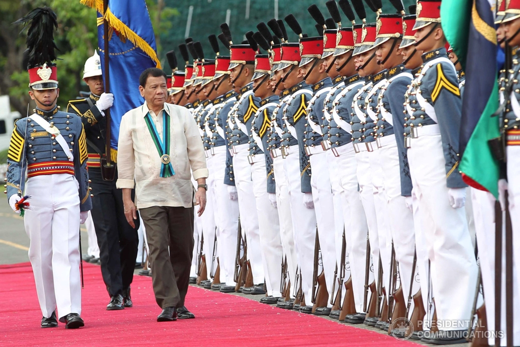 Photo from the Presidential Communications Operations Office official Facebook page. Photo by Ace Morandante/Presidential Photo.